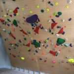climbing wall welcome drive